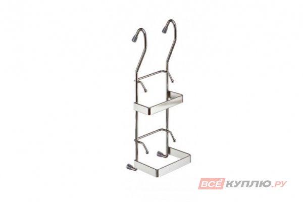 Полка-держатель для крышек 95*85*280 мм хром (YJ-G810)