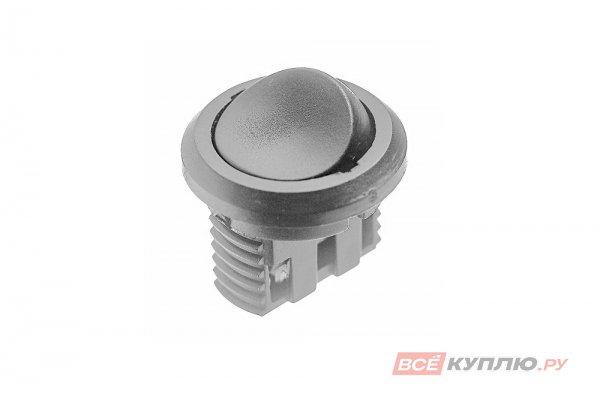 Выключатель D27 встраиваемый IP20,5A, 250B (27х27х21 мм), серый (14772)