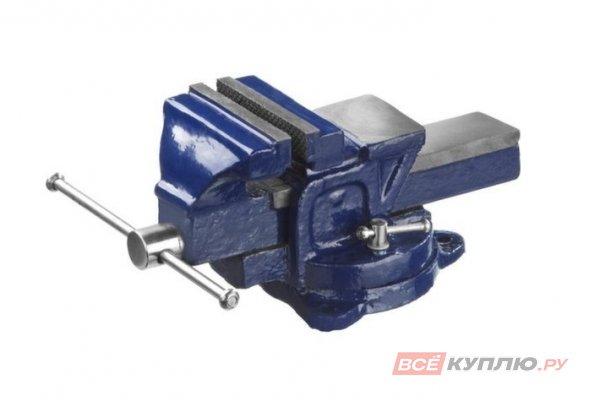 Тиски слесарные с поворотным механизмом DEXX 100 мм (32470-100)
