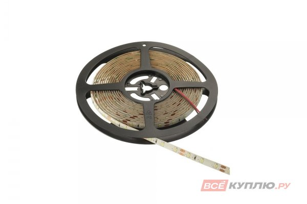 Светодиодная лента 2835, 60 д/м, 4,8W, 12V, IP44, теплый белый, влагозащищенная