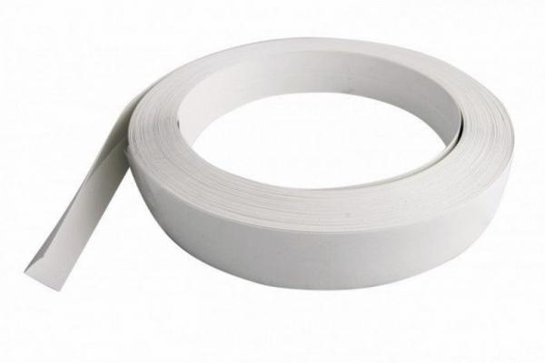 Уголок гибкий ПВХ 50*25*25 мм белый (цена в нарезку/пог.м)