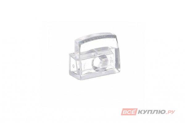 Кляймер №2 для стекла 4мм прямоугольный прозрачный