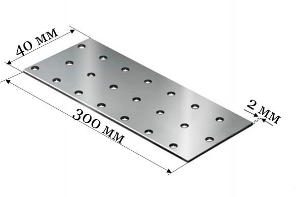Пластина соединительная PS 40*300*2 мм