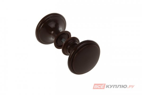 Ручка-кнопка Башкирия РДП-03-6 шоколад (2364)