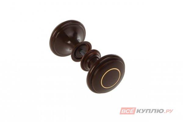Ручка-кнопка Башкирия РДП-01-6 шоколад с золотым кольцом (2359)