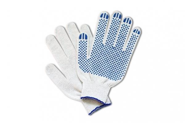 Перчатки трикотажные х/б с защитой от скольжения DEXX (11400-z01)