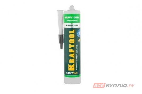 Клей KRAFTOOL профессиональный без сольвентов зеленый 300 мл (41348_z01)