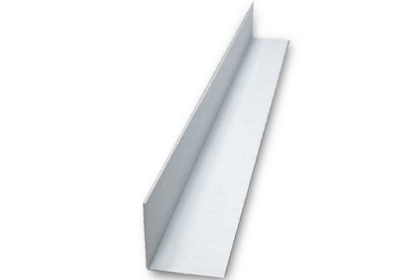 Угол накладной ПВХ 20*20*3000 мм белый