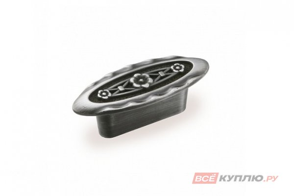 Ручка-кнопка мебельная FM-086 032 олово шлифованное(TS)