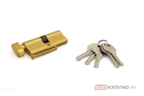 Механизм цилиндровый СТАНДАРТ для замков 103/50В,132/50В GP 70 мм золото (4890)
