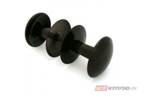Ручка-кнопка РДК -110 черная (4145)