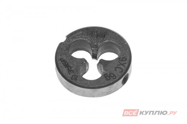 Плашка круглая машинно-ручная для нарезания метрической резьбы М4х0.7 Зубр ПРОФЕССИОНАЛ (4-28023-04-0.7)
