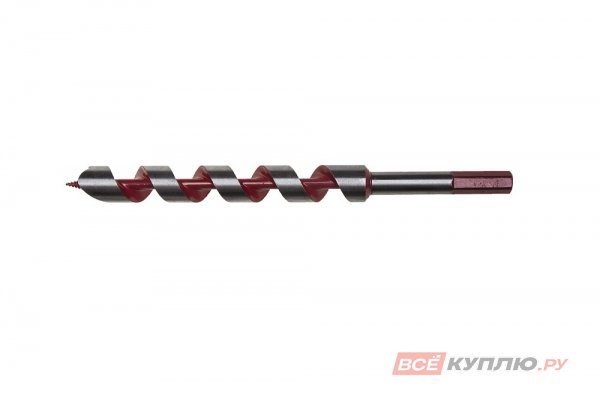 Сверло по дереву спираль Левиса ЗУБР МАСТЕР (6х235 мм; шестигранный хвостовик; сталь 45Mn) (2947-235-06)