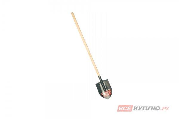 Лопата штыковая ЗУБР МАСТЕР ЛКО деревянный черенок 285х205х1420 мм (39570)