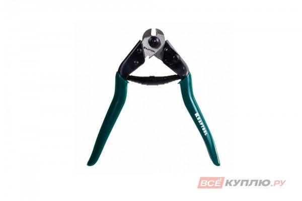 """Тросорез-кусачки Kraftool """"Expert"""" универсальный кабель 5x19 мм (23335-19)"""