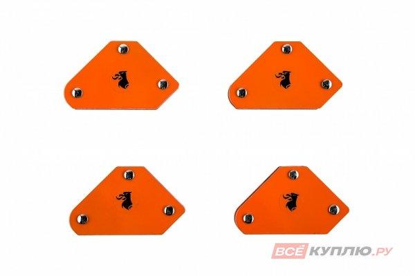 Уголки магнитные для сварки WESTER MCS (4 шт; углы 45/90/135°; до 5 кг) (344436)
