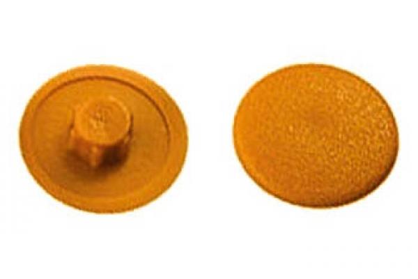 Заглушка на конфирмат №4 Желто-коричневая (50 шт)
