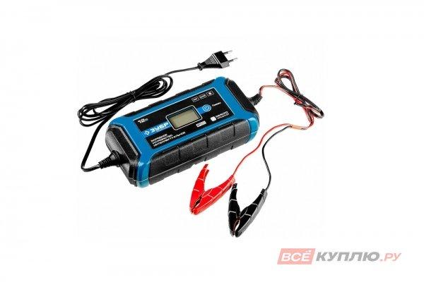 Зарядное устройство ЗУБР ПРОФЕССИОНАЛ, 12В, 8А, автомат, IP65, AGM, GEL, WET (59303)