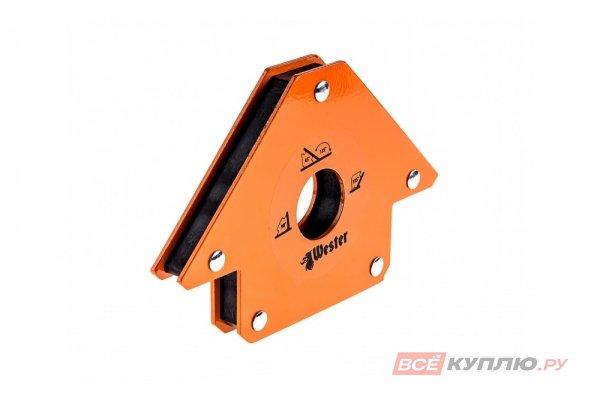 Уголок магнитный для сварки WMC50 (углы 45/90/135; до 23 кг) WESTER (344438)