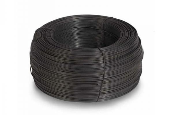 Проволока термообработанная черная D=1,2 мм (цена за метр погонный)