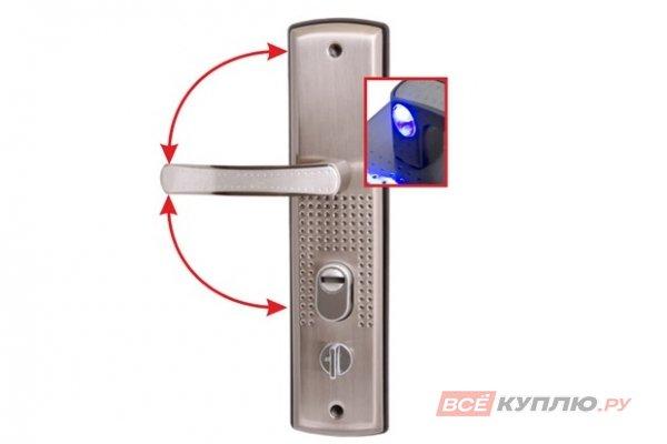 Ручки дверные на планке АЛЛЮР РН-А222-1-R универсальные с подсветкой правые (5382)