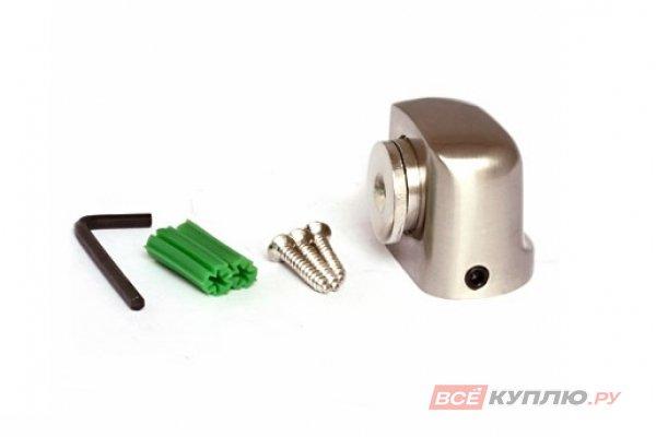 Ограничитель дверной магнитный АПЕКС DS-2751-М-NIS матовый хром (5560)