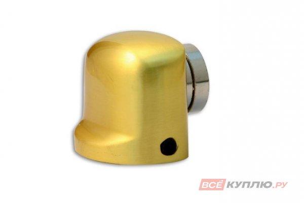 Ограничитель дверной магнитный АПЕКС DS-2751-М-GM матовое золото (5565)