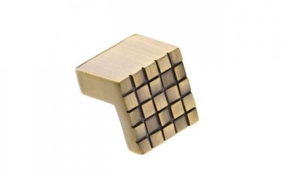 Ручка-кнопка мебельная бронза (RK-019 ВА)