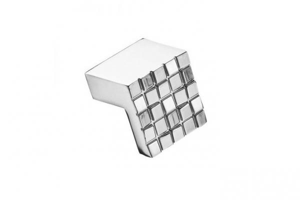 Ручка-кнопка мебельная хром (RK-019)