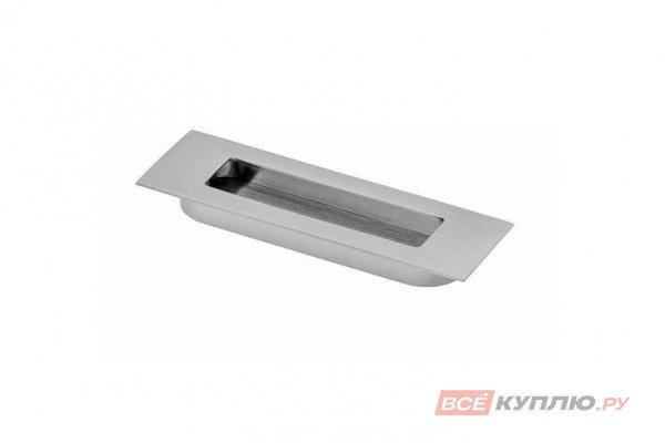Ручка врезная мебельная UZ-E6-096-01 хром