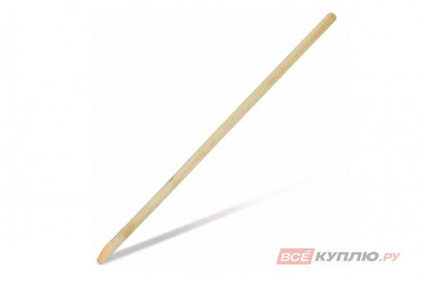 Черенок деревянный для лопат 40*120 мм 1 сорт с тулейкой