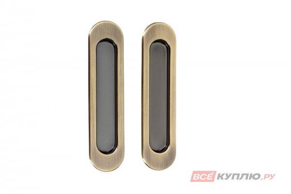 Ручки для раздвижных дверей TIXX SDH 501 AB бронза