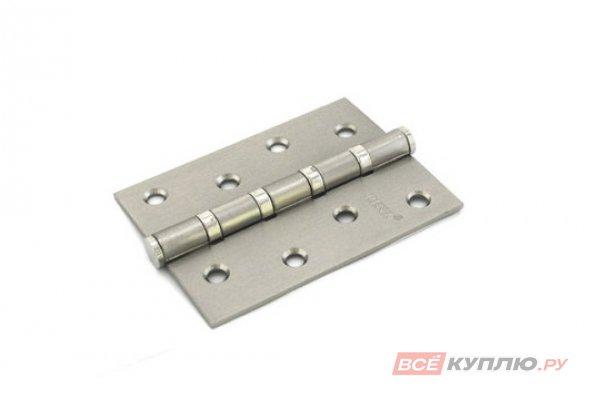 Петля дверная RENZ 100-4BB FH SN 100*75 матовый никель (604)