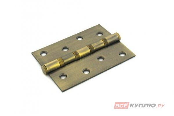 Петля дверная RENZ 100-4BB FH АВ 100*75 бронза (605)