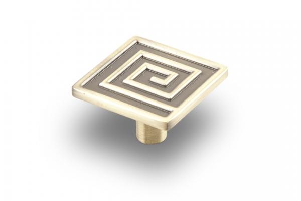 Ручка-кнопка мебельная бронза (RK-031 ВА)