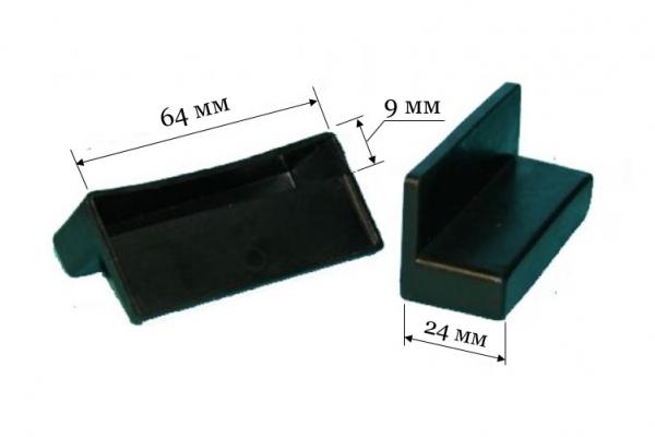 Латодержатель ЛДМ 64/1 односторонний, паз 64*9 мм
