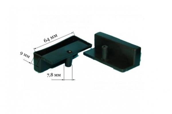Латодержатель ЛДМ 64 для металлической конструкции односторонний (внутренний) 64 мм
