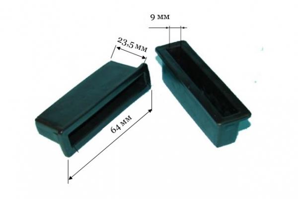 Латодержатель ЛДД 64 односторонний для деревянной конструкции, паз 64*9 мм