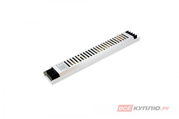 Блок питания для светодиодов ультратонкий в металлическом корпусе 220/12V 250W, IP20 сетка (15019)
