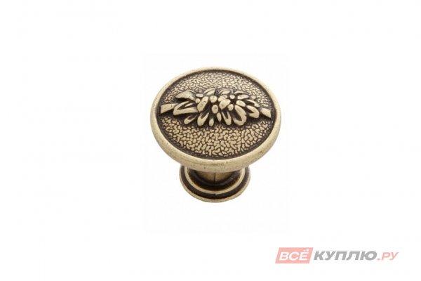 Ручка кнопка AMIX GR 56AE бронза