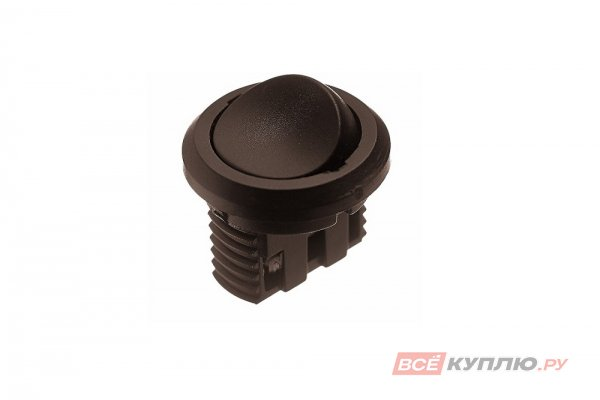 Выключатель D27 встраиваемый IP20,5A, 250B (27х27х21 мм), коричневый (14770)