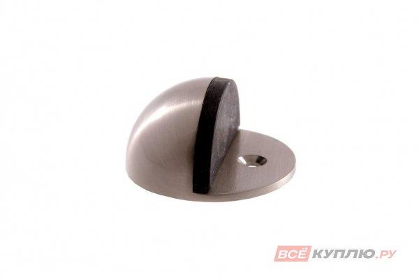 Ограничитель дверной АЛЛЮР G-7018 круглый хром