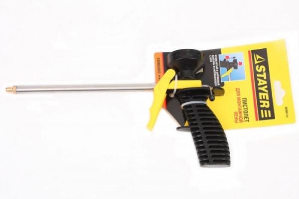 Пистолет для монтажной пены STAYER STANDART (06860_Z01)