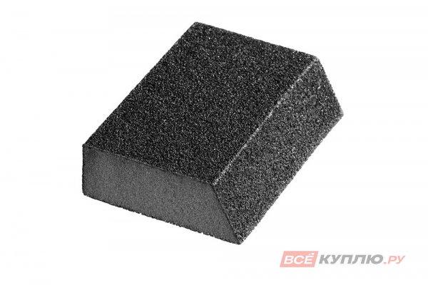 """Губка шлифовальная STAYER """"MASTER"""" угловая, зерно - оксид алюминия, Р120, 100x68x42x26 мм (3561-120)"""