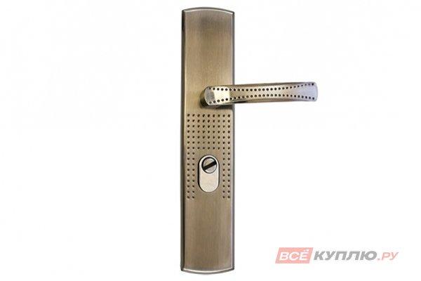 Ручки дверные на планке СТАНДАРТ РН-СТ222-L универсальные левые (7836)