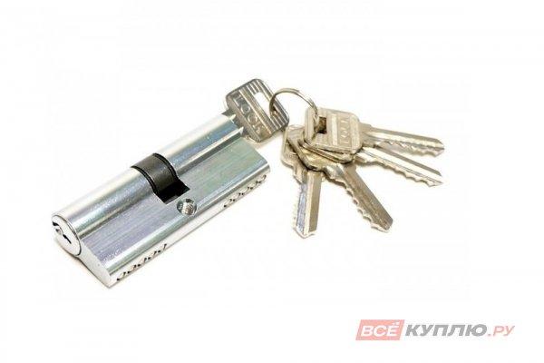 Механизм цилиндровый СТАНДАРТ для замков 103/50,132/50 GP 70 мм никель (4887)