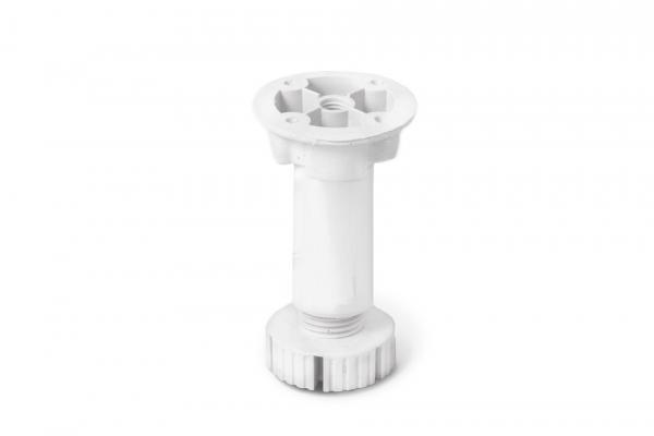 Опора кухонная белая (100-130 мм)
