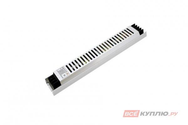 Блок питания для светодиодов ультратонкий в металлическом корпусе 220/12V 200W, IP20 сетка (15018)