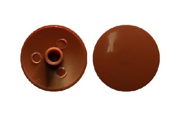 Заглушка на эксцентрик №4.1 кирпичная (50 шт)