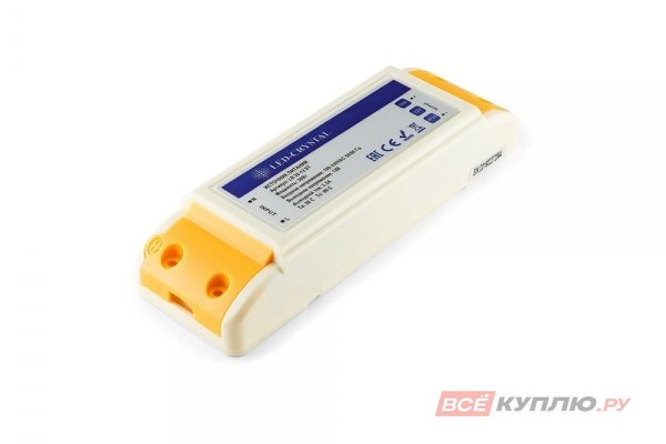 Блок питания для светодиодов 220/12V 30W, IP20 (11266)